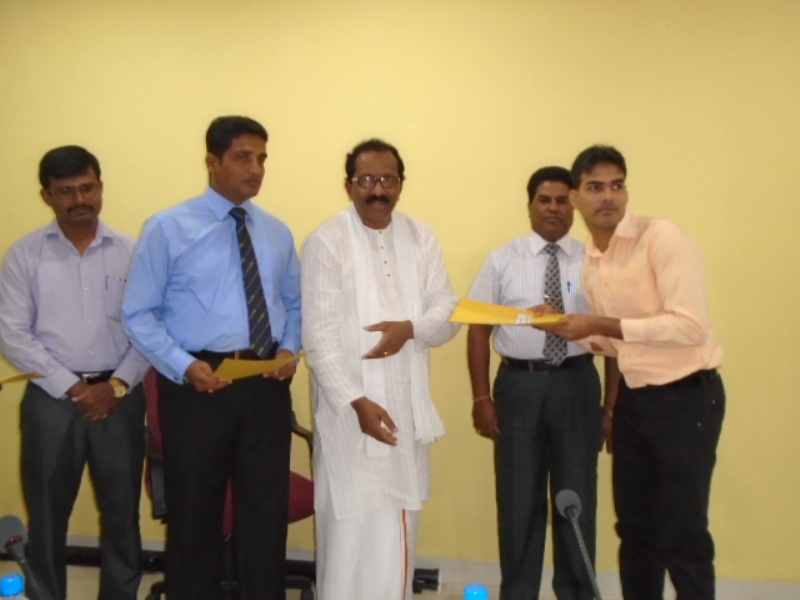 Issuing Appointments to newly recruited Sports Officers at